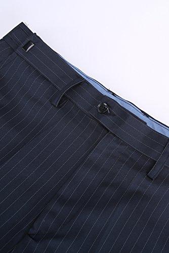 Pantalon Costume Foncé Rayures Pour À Hommes 94 Hanayome De Bleu PRWqOxO