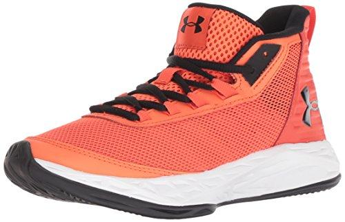 Under Armour Boys' Grade School Jet 2018 Basketball Shoe, Ares (601)/Radio Red, - Jordan Kids Basketball Shoes Big