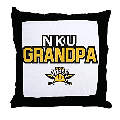 Pattebom Northern Kentucky Nku Norse Grandpa Canvas Throw Pillow Covers 18 x 18 Home Decor Farmhouse Throw Pillows Case Cushion Covers Decorative for Gifts