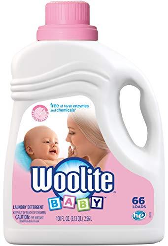 Woolite Baby Laundry Detergent, 66 Loads, Hypoallergenic Liquid Detergent, HE & Standard, Hand - Wash Detergent Hand Woolite