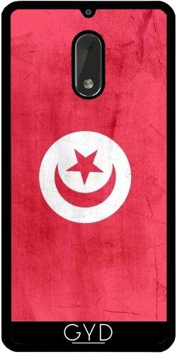 Funda de silicona para Nokia 6 - Bandera De Túnez by wamdesign