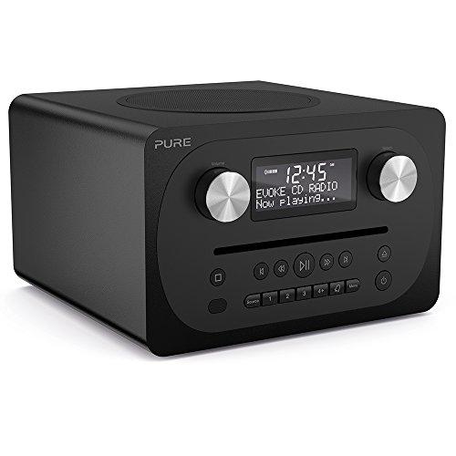 Pure Evoke C-D4 all-in-one muziekinstallatie (CD, DAB/DAB+, digitale radio, FM-radio, internetradio, Bluetooth…