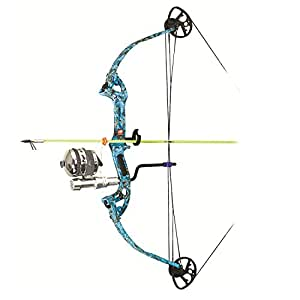 Precision Shooting Equipment Discovery 30-40 Bowfishing Package with Muzzy Kit, Right