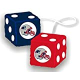 "Fremont Die NFL New England Patriots 3"" Fuzzy"