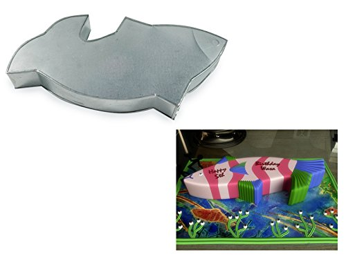 Fish Shaped Cake Pan Birthday Novelty Baking Cake Tin 15
