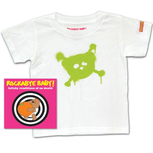 Rockabye Baby! Lullaby Renditions of No Doubt + Rockabye Baby 100% Organic Cotton Toddler T-Shirt (Gwen Stefani Halloween)