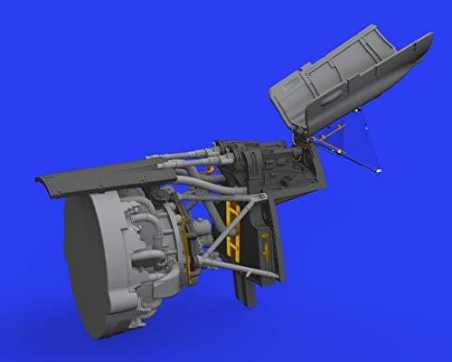 1:48-Fw 190A-fuselage Guns Model Kit Brassin, Various - Eduard EDB648462