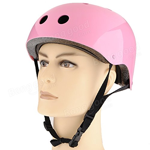 Roller Skate Scooter Helmet Skateboard Skiing Cycling Helmet Size M ( Silver ) by Freelance Shop SportingGoods (Image #3)