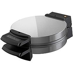 BLACK+DECKER WMB505 Belgian Waffle Maker, Stainless Steel