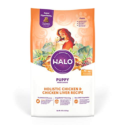Halo Spot's Stew Wholesome Chicken Puppy Formula Natural Dry Dog Food, 10 lb