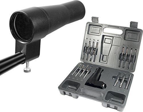BARSKA Iron Boresighter from .177 to .50 Caliber Kit 15 -Piece Arbor Set for Rifles Shotgun