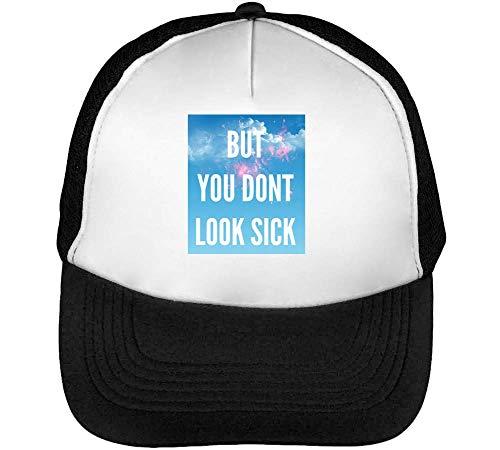 But Blanco Gorras Slogan Negro Hombre You Funny Snapback Don'T Look Sick Beisbol rwrgqZC