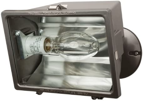 Lithonia Lighting OFL 100M 120 LP BZM4 Premium Flood Light with 100-Watt Metal Halide
