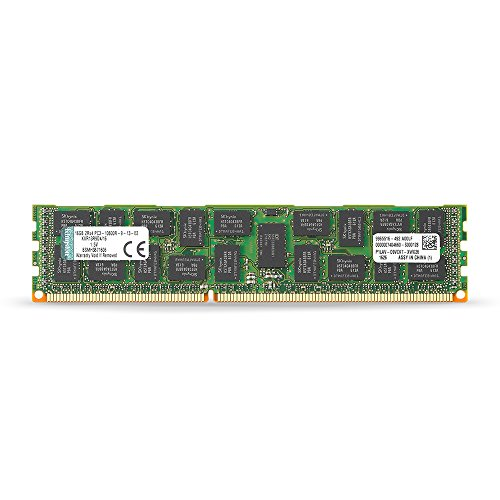 Dl360 G2 Server - Kingston ValueRAM 16GB 1333MHz DDR3 PC3-10666 ECC Reg CL9 DIMM DR x4 Server Memory KVR13R9D4/16