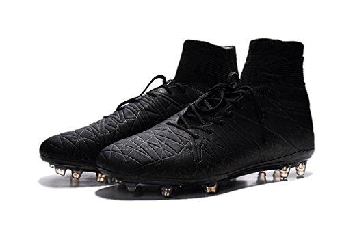 南西余裕がある遡るndsisa1lメンズHypervenom Phantom II FGIブラックHi Top Footballサッカーブーツ靴