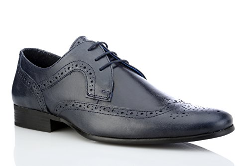 Red Tape Mens Louth Blue Formal Shoe