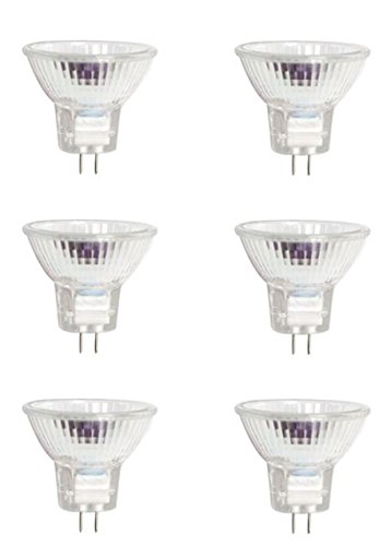 Halogen MR16 50W Light Bulb - Pack of 6 Homebase