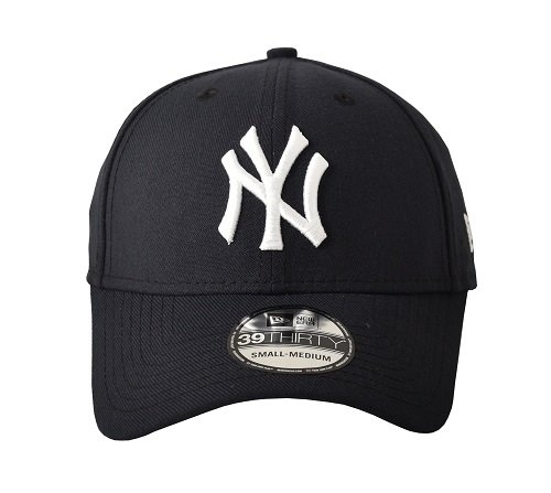 fan products of MLB New York Yankees Team Classic Game 39Thirty Stretch Fit Cap, Blue, Medium/Large