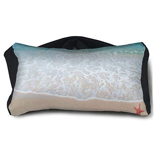 Eye Pillow Soothing Stress And Headache Relief, Ocean Seashell Eye Mask Travel Pillow For Wellness And Relaxation