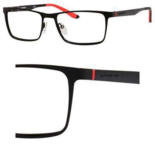 Carrera 8811 Eyeglass Frames CA8811-0003-5517 - Matte Black Frame, Lens Diameter 55mm, Distance - Eyeglasses 0003 Black Matte