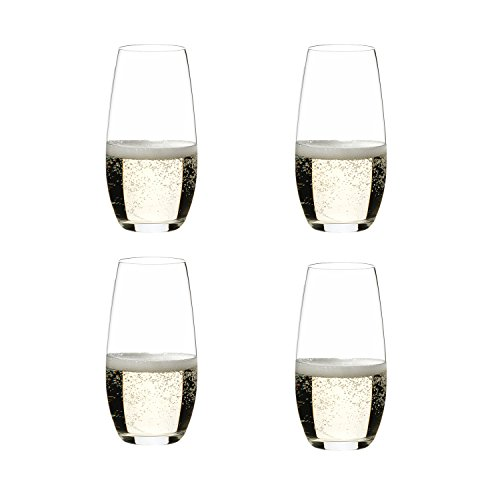 Riedel O Wine Tumbler Champagne, Set of 4