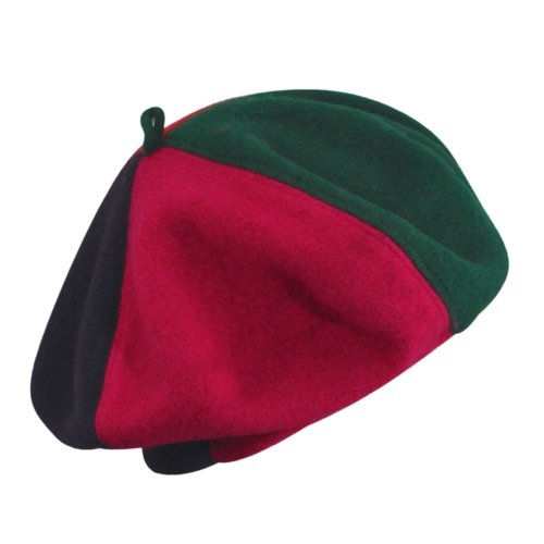 56c219ddf3e78 Kangol Colour Block Wool Beret Bright 1Sfm  Amazon.in  Clothing    Accessories