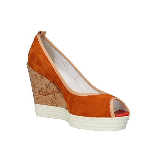 AH702 Courts EU 5 35 Light Wedges Brown Hogan Suede Rebel Woman 5wq00z