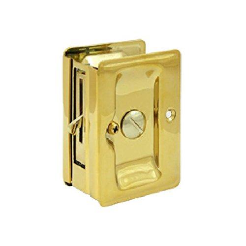 Deltana SDLA325CR003 Adjustable 3 1/4-Inch x 2 1/4-Inch Privacy HD Pocket Locks
