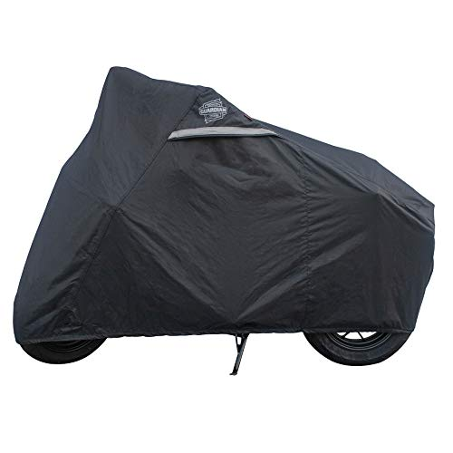 (Dowco Guardian 51096-00 WeatherAll Plus Heavy Duty Outdoor Waterproof Motorcycle Cover: Black, Fits Honda Grom and Kawasaki Z125)