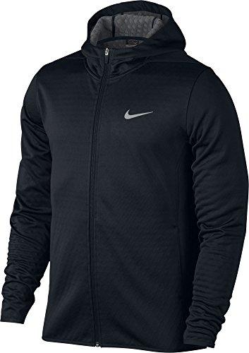 Nike Tech Sphere Full-Zip Men's Golf Hoodie (Large, Black)