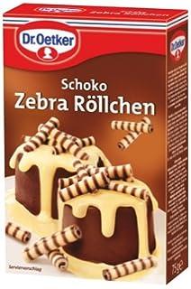 Dr Oetker Schoko Zebra Rollchen 75 G Amazon De Lebensmittel