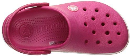 Clog Crocband Crocs Raspberry White Kid's AfTwqZ