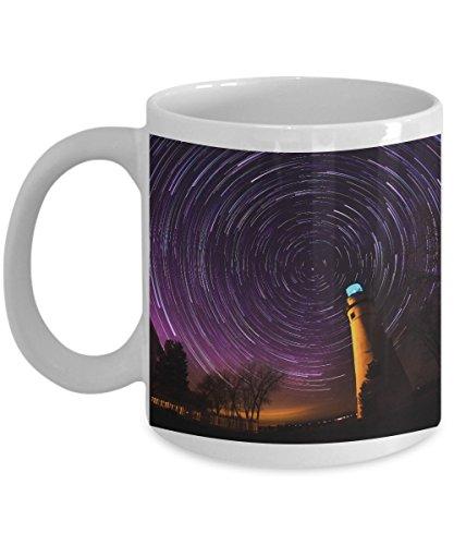 Fine Art Gift Mugs - Polaris Coffee Mug - Marblehead Lighthouse - by Photodaydreams ()