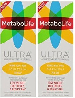 Twinlab MTB Ultra Tab Weight Loss Supplements, 45 Count