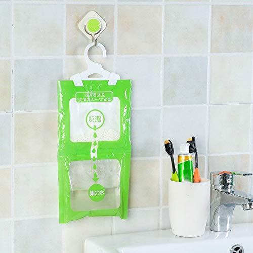 sahnah Hangable Wardrobe Moisture-Proof dehumidifier Wardrobe Hanging Hygroscopic Bag Anti-Mildew Single Bag