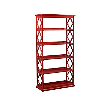 red empty living room drawings stock with bookcase