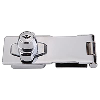Door lock clasp buckle vintage door Lock drawer locker cabinet lock door locker Home lock buckle from hole