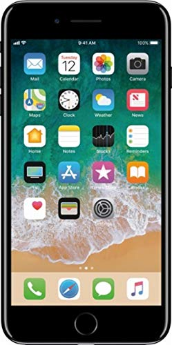 Apple iPhone 7 Plus 32GB Unlocked GSM 4G LTE Quad-Core Smartphone - Black (Renewed) (Iphone Unlock New)