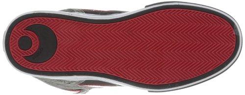 Osiris NYC 83 VLC, Scarpe Sportive-Skateboard Uomo Grigio (Gris (Gry/Red/Blk))
