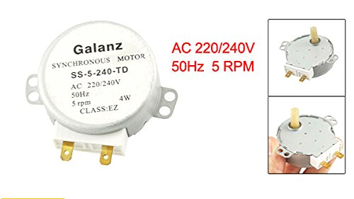 1PCS AC 220//240V Synchronous Motor for Galanz SS-5-240-TD
