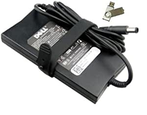 "Bundle:2 items - Adapter&Power Cord/ Free USB Drive; Dell SLIM 90W AC Adapter""PowerSupply""For: Dell Notebook Model Numbers: Dell Inspiron 15R-N5010, Dell Inspiron 15R-N5110, Dell Inspiron 15R, Dell Inspiron 15R SE 7520, Dell Inspiron 15RM, Dell Inspiron 15RN, Dell Inspiron 15Z-1570, Dell Inspiron 15Z, Dell Inspiron 15Z 5523, 100% Compatible With Dell P/N: PA-3E, LA90PE1-01, J62H3, PA-1900-28D, 0J62H3, C120H, 330-4113, AA90PM111, PA-1900-32D, LA90PM111, ADP-90LD D, Y808G, Y807G,YD9W8, D094H, PA-1900-01D3, PA-1900-02D, PA-1900-02D2, WK890, DA90PE1-00, 330-1825, NN236, 330-1826, 330-1827, DA90PM111, 0W6KV, 330-1828, PA-10, YY20N, MK947, TK3DM, FA90PM111, PA-1900-02D3, ONN236, DA90PE3-00, PA-3E Family"
