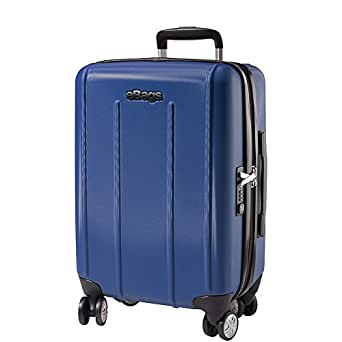 eBags EXO 2.0 Hardside Spinner Carry-On (Blue- Discontinued)