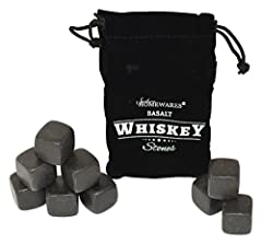 No longer dilute your favorite drink or spirit with taste altering ice, Southern Homewares has the solution for you! this set of whiskey stones is the perfect way to slightly chill your favorite beverage while retaining all the taste integrit...