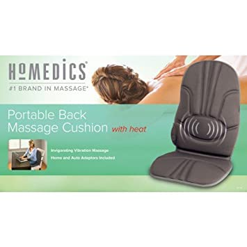 Amazon.com: HoMedics VC-110 portátil Back Cojín de masaje ...