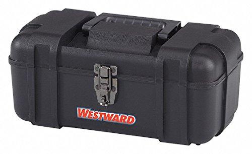 Plastic Portable Tool Box, 6-1/4 H x 14