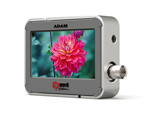 "E2WORK ADAM 2.8"" Multi Format Potable Monitor for SDI by Adam"