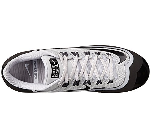 Nike Huarache Mens 2kfilth Keystone Metà Baseball Tacchetta Lupo Grigio / Nero / Bianco