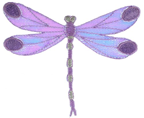 Purple Sheen Dragonfly Patch 3 inch Patch AKPT930