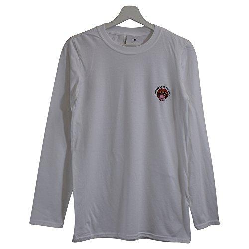 Rue Blanc Obtenir T s Fact Actual Urbain Points Xxl Suture Manches Longues De Des shirt Mouchards zwTpgq