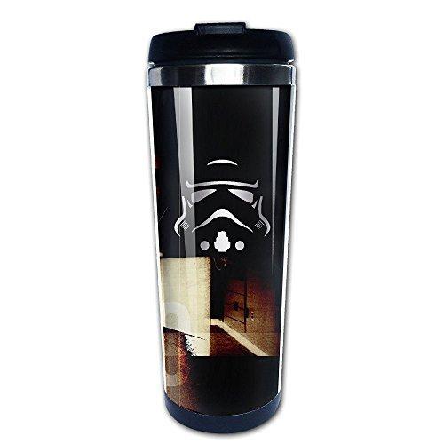 Stainless Steel Storm Trooper Platinum Style Tumbler Coffee Mug